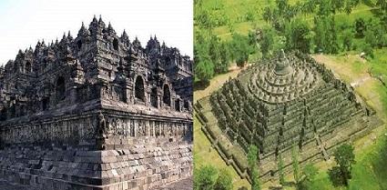 پاورپوینت بررسی معبد بوروبودور